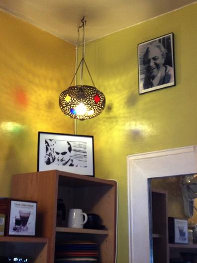 Inside of Sufi Coffee Shop